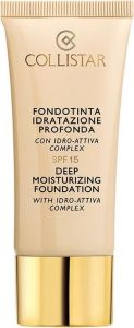 Collistar Deep Moisturizing Foundation SPF15 (30mL)