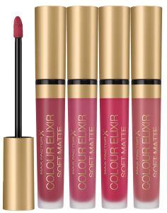 Max Factor Colour Elixir Soft Matte Liquid Lip Colour (4mL)