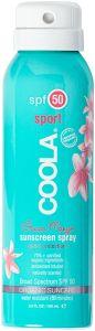 Coola Travel Sport Continuous Spray SPF50 Guava Mango (100mL)
