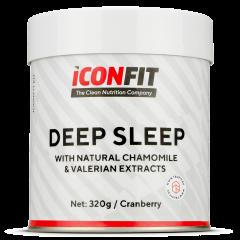 ICONFIT Deep Sleep Valerian+chamomille (320g) Cranberry