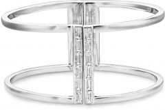Buckley London Adelphi Cuff Bangle CZBA151