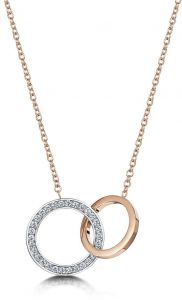 Buckley London Linked Loop Pendant CZGN267