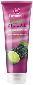 Dermacol Aroma Ritual Shower Gel (250mL) Grape & Lime
