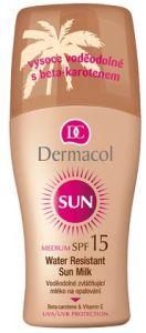 Dermacol Sun Milk Spray (200mL) SPF15 Water-Resistant