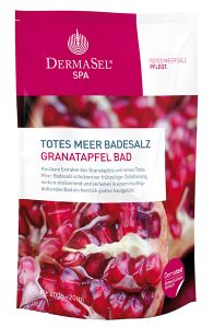 Dermasel Dead Sea Salt Firming, Anti-aging Pomegranate (400g+20mL)
