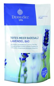 Dermasel Dead Sea Salt Revitalizing Lavender (400g+20mL)