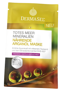 Dermasel Nurturing Argan Oil Mask (12mL)