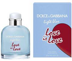 Dolce & Gabbana Light Blue Love is Love Pour Homme EDT (125mL)