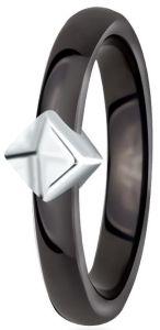 Dondella Ring Ceramic Rhomb 15.25  CJT32-3-R-48