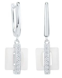 Dondella Earrings Ceramic Line  CJT6-5-E