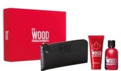 Dsquared2 Red Wood Pour Femme EDT (100mL) + SG (100mL) + Black Wallet