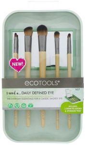 EcoTools Daily Defined Eye Brush Set (5pcs) + Storage Tray