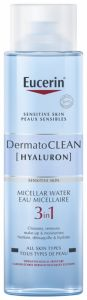 Eucerin DermatoCLEAN Hyaluron Micellar Lotion 3 in 1 (400mL)