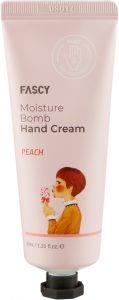 FASCY Moisture Bomb Peach Hand Cream (40mL)
