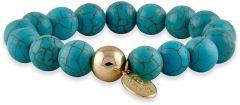 Buckley London Semi Precious Bracelets Turquoise FBT839