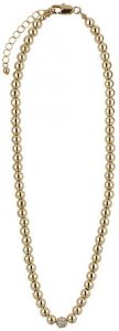 Buckley London Gold Simplicity Bead Necklaces FNL 1188