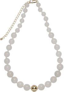 Buckley London Semi Precious Necklaces White Jade FNL1197