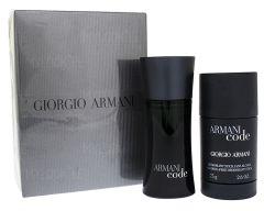 Giorgio Armani Black Code EDT (75mL) + Pulkdeodorant (75mL)