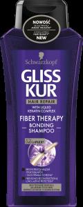 Gliss Kur Shampoo Fiber Theraphy (400mL)
