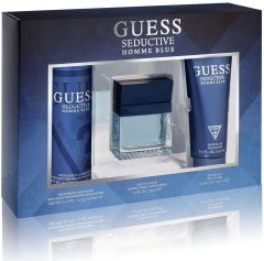Guess Seductive Blue EDT (100mL) + Shower Gel (200mL) + Deospray (226mL)