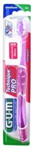 Gum Technique Pro Toothbrush Medium Purple