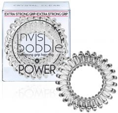 Invisibobble Power Hair Ring (x3) Crystal Clear