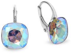 Spark Silver Jewelry Earrings Barete Light Sapphire