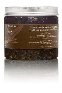 Kaé Traditional Black Soap from Morocco (200g)