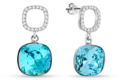 Spark Silver Jewelry Earrings Orbis Light Turquoise