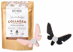 Boost Yourself Collagen Raw Cacao and KUMA Butterfly Effect