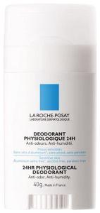 La Roche-Posay Physiological Deodorant Stick 24H (40g)