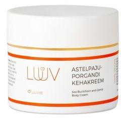 Luuv Sea Buckthorn And Carrot Body Cream With Mango Butter (200mL)