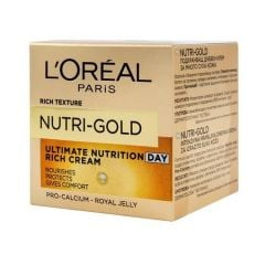 L'Oreal Paris Nutri Gold Ultimate Nutrition Day Rich Cream (50mL)