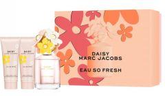 Marc Jacobs Daisy Eau So Fresh EDT (75mL) + BL (75mL) + SG (75mL)