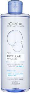 L'Oreal Paris Micellar Water Normal to Combination, Sensitive Skin (400mL)