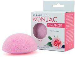 Active Line Beauty Konjac Sponge with Rose Extract