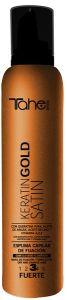 Tahe Botanic Acabado Keratin Gold Satin Fixing Mousse Strong (300mL)