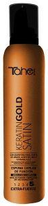 Tahe Botanic Acabado Keratin Gold Satin Fixing Mousse Extrastrong (300mL)