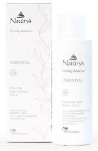 Naturys Dry Sensitive Skin Cleansing Milk/Tonic Lotion 2 In1 (200mL)