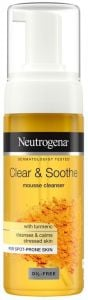 Neutrogena Clear & Soothe Mousse Cleanser (150mL)