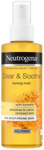 Neutrogena Clear & Soothe Toning Mist (125mL)