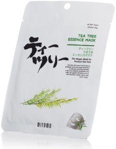 Mitomo Tea Tree Essence Mask (25g)