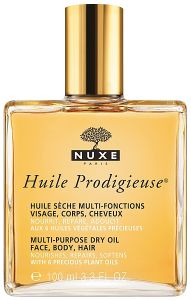 Nuxe Prodigieuse Multi-Purpose Dry Oil (100mL) for Face Body and Hair