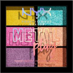 NYX Professional Makeup Metal Play Pigment Palette (9g)