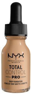 NYX Professional Makeup Total Control Pro Drop Foundation (60g) Buff