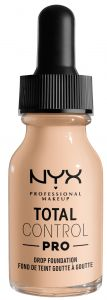 NYX Professional Makeup Total Control Pro Drop Foundation (60g) Light Ivory