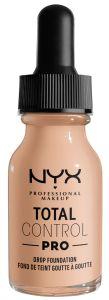 NYX Professional Makeup Total Control Pro Drop Foundation (60g) Light