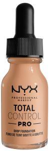 NYX Professional Makeup Total Control Pro Drop Foundation (60g) Natural