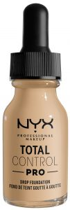NYX Professional Makeup Total Control Pro Drop Foundation (60g) Nude