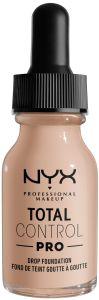 NYX Professional Makeup Total Control Pro Drop Foundation (60g) Porecelain
